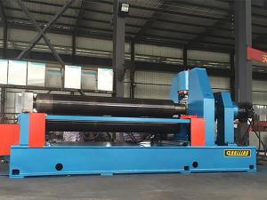 2000mm~3000mm 3-Roll Horizontal Plate Rolling and Bending Machine