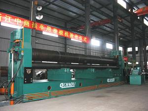6000mm~9000mm 3-Roll Metal Plate Rolling and Bending Machine